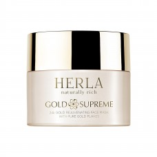 GOLD SUPREME - 24K GOLD REJUVENATING FACE MASK WITH PURE GOLD FLAKES